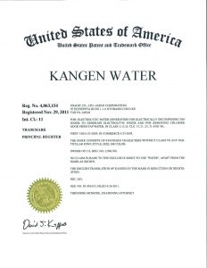 Sertifikasi Mesin Enagic Kangen Water